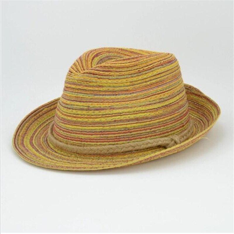 Summer Style Women Ladies Foldable Hat Tops Floppy Beach Hat Sun Straw Hat Cap image 2
