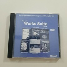 Microsoft Works Suite 2004 DVD  - $10.39