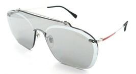 Prada Sport Sunglasses PS 51TS 1BC-125 37-xx-145 Silver / Silver Mirror - $196.00
