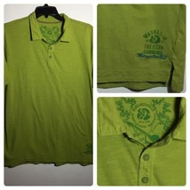 Margaritaville Green Polo Shirt Men's Size XL Washed in Ocean Dried in S... - $24.60