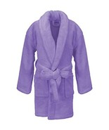 Microfleece Kids Robe for Girls and Boys, Plush Soft and Cozy Large, Lav... - $29.80
