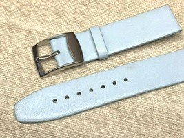 20MM BABY BLUE SYNTHETIC WATCH BAND FASHION WATCH REPLACES GUESS - $4.79