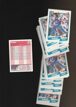 1990 Fleer Montreal Expos Baseball Card #359 Tim Raines Lot of 39 - $2.85