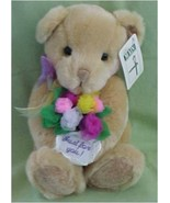 "Thoughtfulness Bear New From First & Main ""Just for You"" Message - $25.00"