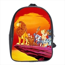 backpack school bag lion king simba - $42.00