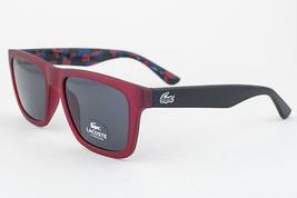Lacoste Matte Red / Gray Sunglasses L797S 615 54mm - $97.51