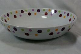 "Pampered Chef Dots Round Pasta Bowl 13 3/4"" - $17.99"