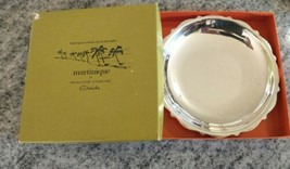 VTG  Antique ONEIDA Heirloom Silver Plated MARTINIQUE Bowl Candy Dish In... - $39.55
