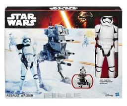 Star Wars Vehicle Action Figure Assault Walker Riot Control Stormtrooper - $24.00