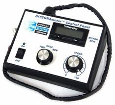 BODINE INTEGRAMOTOR CONTROL PANEL W/ 22B2BEBL/SR GEAR MOTOR W/CABLES AND CASE