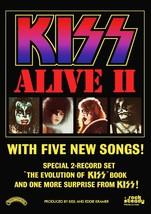 KISS Band ALIVE II Promo Ad 20 x 30 Reproduction Poster - Rock Music Mem... - $45.00
