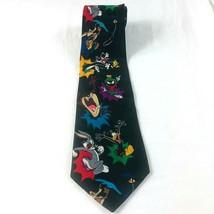 Looney Tunes men's necktie novelty cartoon bugs bunny taz road runner co... - $11.61