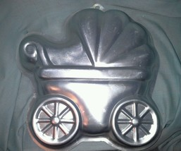 Wilton Cake Pan Baby Carriage Buggy Stroller 2105 3319  For Baby Shower ... - ₨663.19 INR