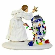Kurt S. Adler Star Wars Princess Leia and R2-D2 5 1/2-Inch Christmas Statue - $73.75