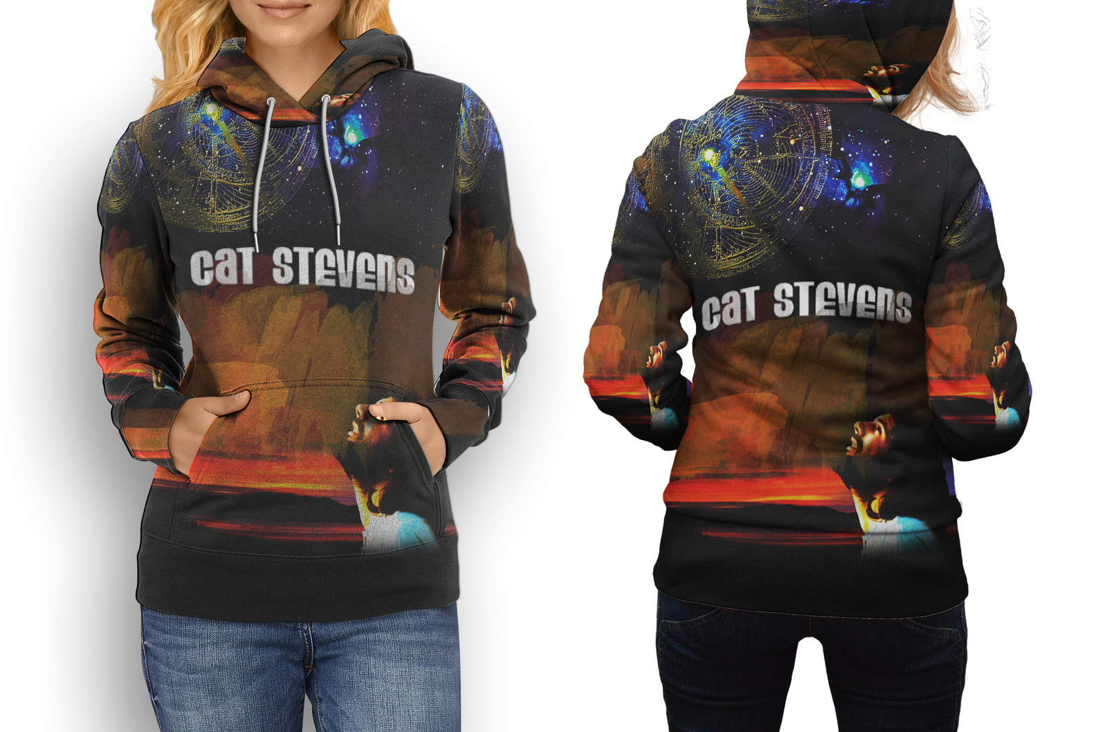 Primary image for cat stevens Hoodie Womens