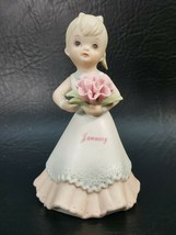 """Lefton-Christopher Collection January """"Smile God Loves You"""" Figurine 039... - $5.95"""
