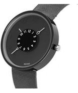 Wrist Watch Men Minimalist Ultra-thin Mesh Stainless Steel Band SIBOSUN... - $41.68