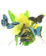 Cloisonne Butterfly picks. Set of 4pc. Decorate your garden!!  4401p - $29.95
