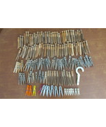 Vintage Mixed Lot of Over 100 Clothes Pins - Wooden, Plastic, Metal and ... - $9.99
