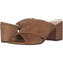 Sam Edelman Stanley Mule Sandals 816, Camel Suede, 6 US / 36 EU - $44.15