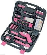 Apollo Precision Tools 135 Piece Household Pink Tool Kit - $819,69 MXN