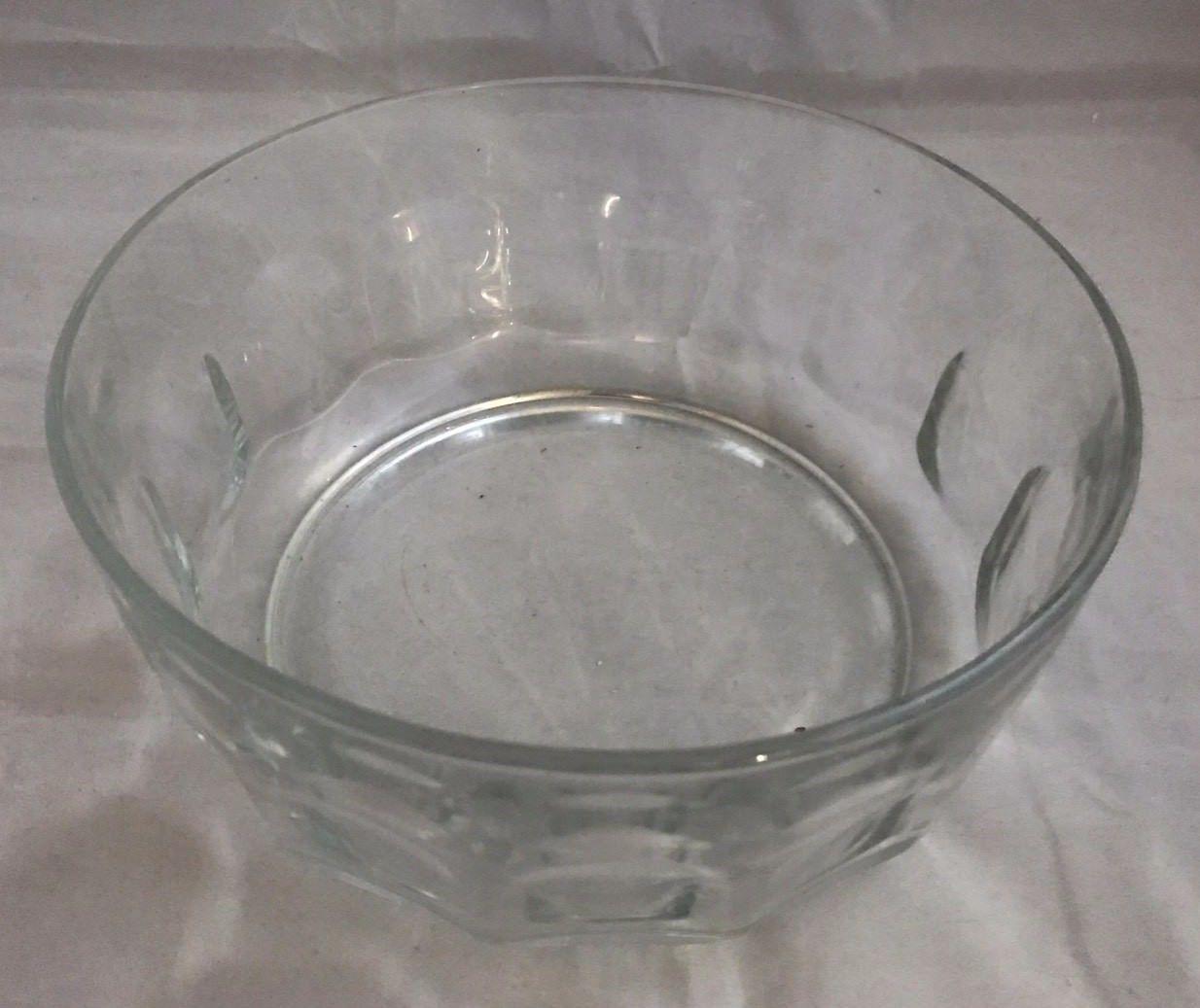 Arcoroc France Round Thumbprint Clear Glass and 26 similar items
