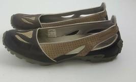 Merrell Oceania Brown Vibram Tread Slip on Athletic Flats Shoes Womens Sz 6.5 - $19.79