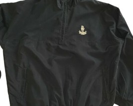 St. Andrews Old Course Wind Pullover XL Black Poly V Neck Mint Official ... - $38.00