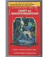 ORIGINAL Vintage 1983 Endless Quest Book #12 Light on Quests Mountain - $14.84