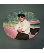 Elvis Presley~ Looking at a Legend Delphi Plate 1988 Bruce Emmett #1893D - $14.85