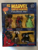 1997 Marvel Super Heroes Spider-Man Figurine Set - $69.30