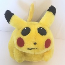 "Vintage Fat Pikachu 9"" Tall Plush Pokemon 1999 Official Nintendo Play By... - $29.60"