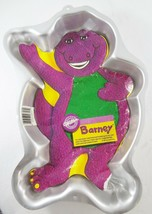 Wilton Barney Purple Dinosaur Full-body Waving Cake Pan 2105-6713 1993  - $27.93
