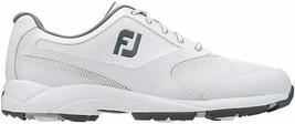 NEW! FootJoy [12] Medium Athletics Men Golf Shoes 56813-White - $118.68