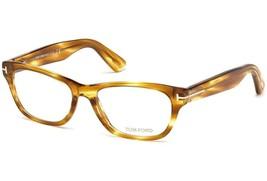 Tom Ford Eyeglass Frames TF5425 055 53MM Red Havana For Women 53mm Optical Frame - $108.89