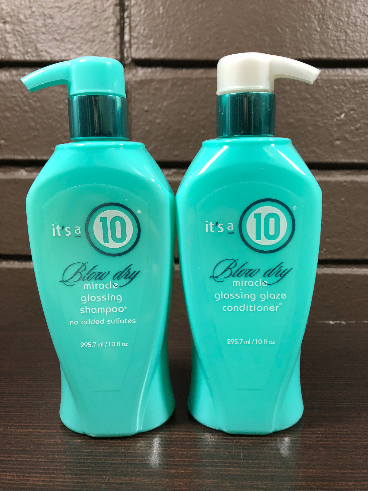It's A 10 Blow Dry Miracle Glossing Shampoo & Glossing Glaze Conditioner 10oz