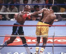 Thomas Hearns Marvin Hagler IAS Vintage 24X30 Color Boxing Memorabilia P... - $41.95