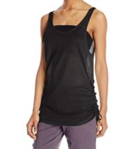 Large 12-14 Merrell Women's Biota Tank Top Shirt Yoga Exercise Black NEW