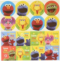 amscan Multicolor Sesame Street Invitation Postcards, 8ct, One Size, Model: 4916 - $4.54