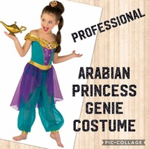 GENIE ARABIAN DANCE PAGEANT COSTUME - $68.30
