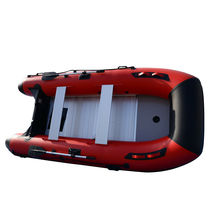 BRIS 12ft Inflatable Boat Dinghy Raft Pontoon Rescue & Dive Raft Fishing Boat image 9