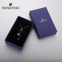 Swarovski DUO eye of the devil pendant crystal Necklace jewelry best gift image 5