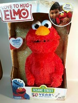 "Sesame Street Love to Hug Elmo Talking Singing Hugging 14"" Plush Toy Christmas - $39.11"