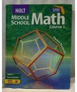 Florida Middle School Math Course 3~Holt~HC~LBDEE - $11.88