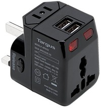 Targus World Travel Power Adapter with Dual USB Charging Ports for Lapto... - $19.80