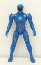 "MMPR Power Rangers Blue Ranger 5"" Action Figure 2016 Bandai Used - $14.85"