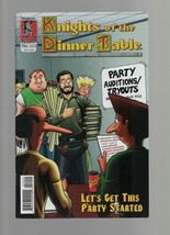 Knights of the Dinner Table #212 Let's Get This Party Started - Kenzer &... - $2.93