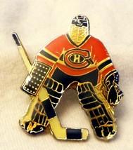 Lapel Cap Hat Pin Hockey Montreal Canadiens Goalie NHL Licensed 1994 - $7.50