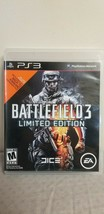 Battlefiled 3 Limited Edition (Sony PlayStation PS3, 2011) Video Game - $6.92