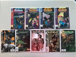 Lot of 9 Batman Gotham Nights (1992) #1-4 (2000) from #52-54 56 69 VF Ve... - $19.80